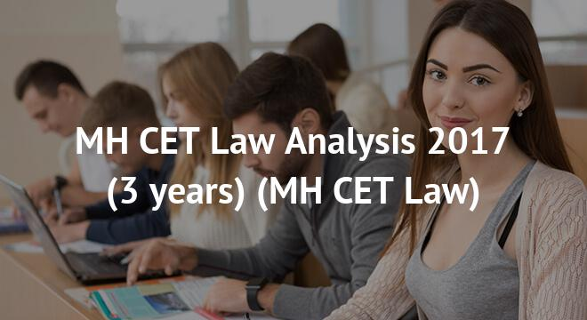 MH CET Law Analysis 2017 (3 years)