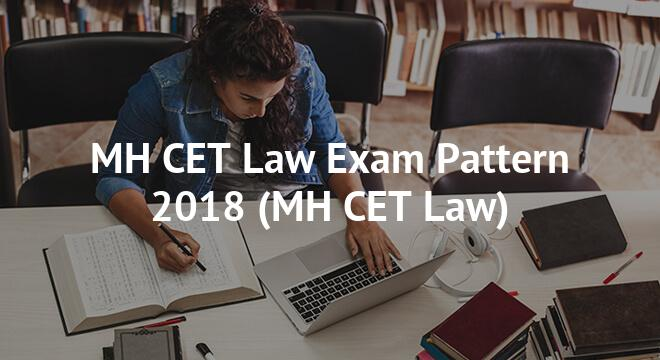 MH CET Law Exam Pattern 2018