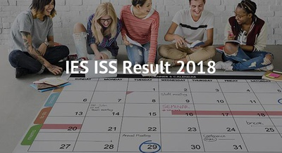 IES ISS Result 2018
