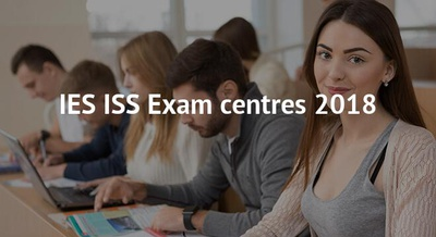 IES ISS Exam centres 2018