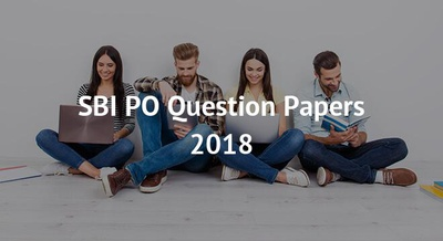 SBI PO Question Papers 2018
