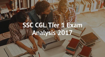 SSC CGL Tier 1 Exam Analysis 2017