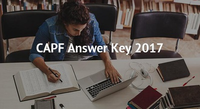 CAPF Answer Key 2017