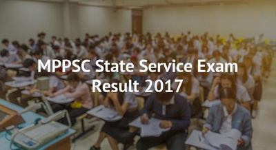 MPPSC State Service Exam Result 2017