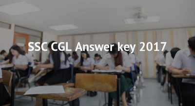 SSC CGL Answer key 2017
