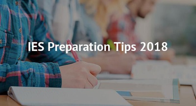 IES Preparation Tips 2018