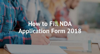 How to Fill NDA Application Form 2018