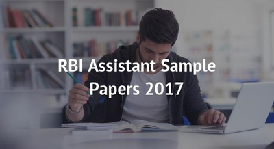 RBI Assistant Sample Papers 2017