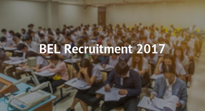BEL Recruitment 2017