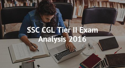 SSC CGL Tier II Exam Analysis 2016