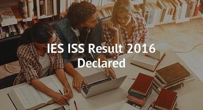 IES ISS Result 2016 Declared